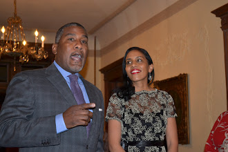Photo: Rev. Conrad and Temecca Tillard, Honorees