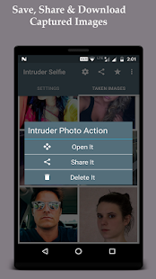 Intruder Selfie Alert- screenshot thumbnail