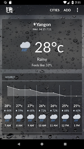 Burma Weather 1.1.3 screenshots 1