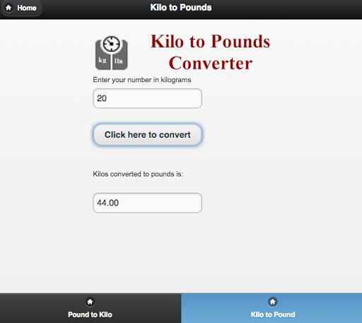 En 72 kilogramos cuanto libras equivale