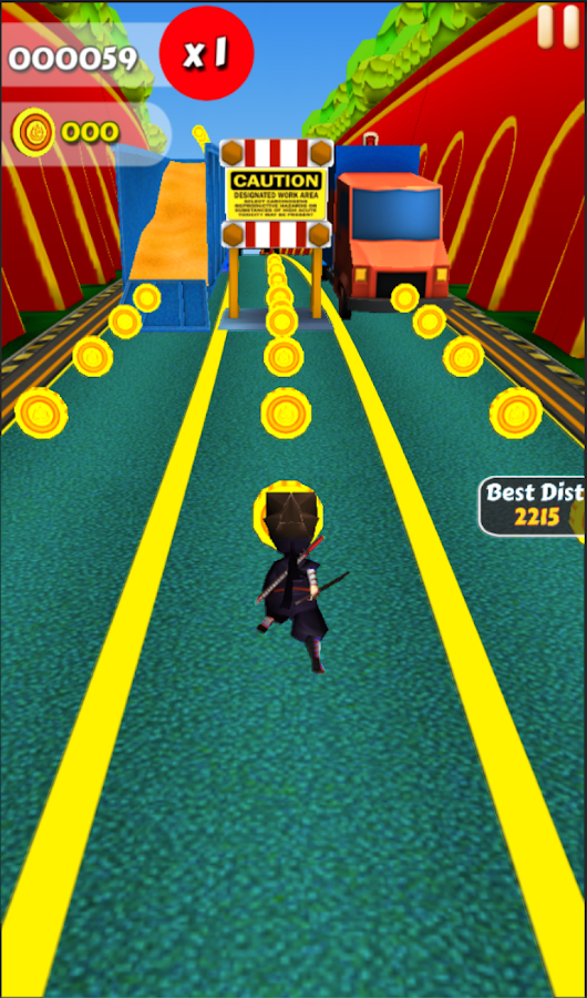 Run Subway Ninja- screenshot