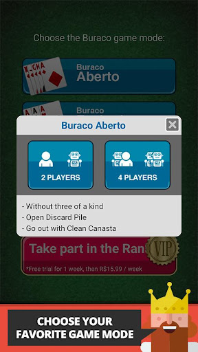 Buraco: Free Canasta Cards  gameplay | by HackJr.Pw 7