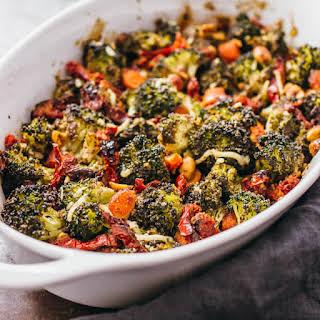 Roasted Broccoli Salad With Garlic.
