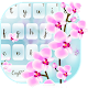 Download Orchid Flower Keyboard Theme for PC