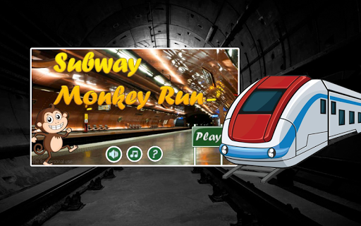 Subway Monkey Run