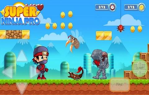 Super Ninja PRO – Jungle Adventure Games 2020 1.0 Android Mod APK 2