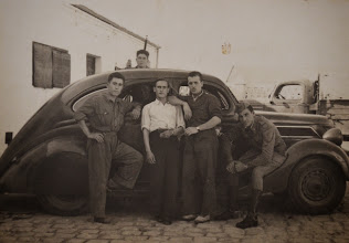 Photo: En la mili. Proveedor: Coloma Ojeda. Año: 1941.