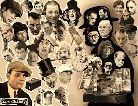 """Photo: Alguns dos diversos papéis de Lon Channey ao longo de sua carreira. Não à toa ele era conhecido como """"O Homem das Mil Faces""""."""