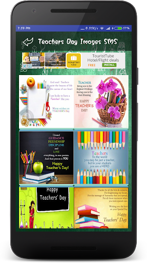 Teachers Day Wallpapers Wishes SMS Quotes Images 1.0 screenshots 4