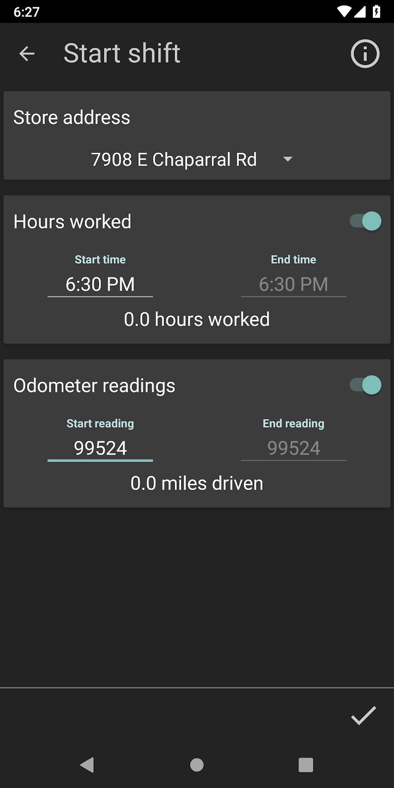 Delivery Tip Tracker Pro Screenshot 7