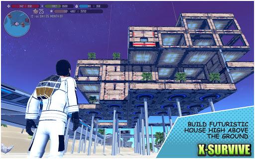 X Survive: Crafting & Building Sandbox captures d'u00e9cran 2