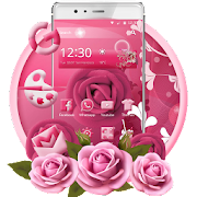 App Pink Rose Mobile Theme APK for Windows Phone