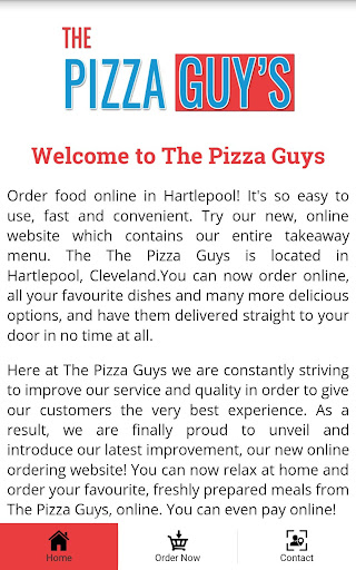 The Pizza Guys Hartlepool Apps On Google Play