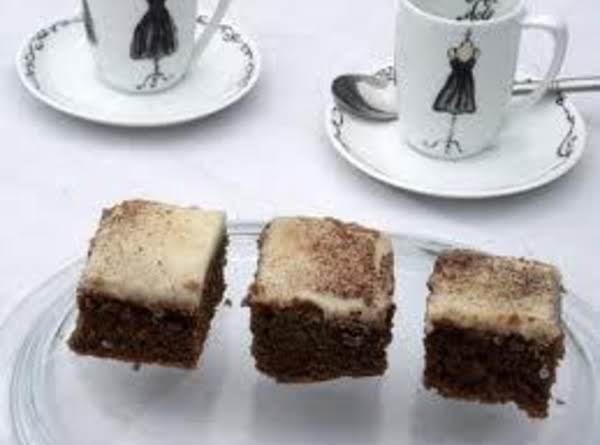 Cappuccino Squares Recipe