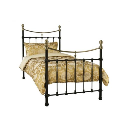 Serene Edwardian II Bed Frame Black