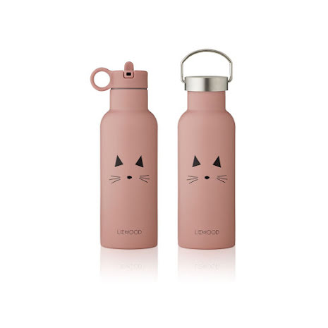 Liewood vattenflaska - 500 ml - Cat rose