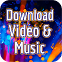 Download Videos and Music MP3 For Free App Guide icon