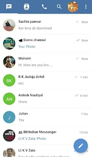 Indian Messenger-Free Video Calls & Chat App India- screenshot thumbnail