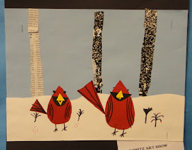 Photo: Charles Harpner Birds By 3rd and 4th grade