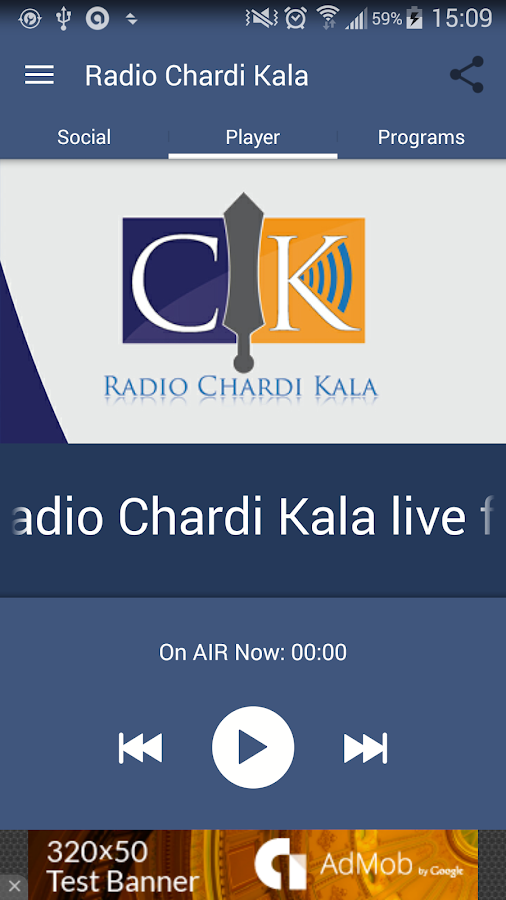 Radio Chardi Kala- screenshot