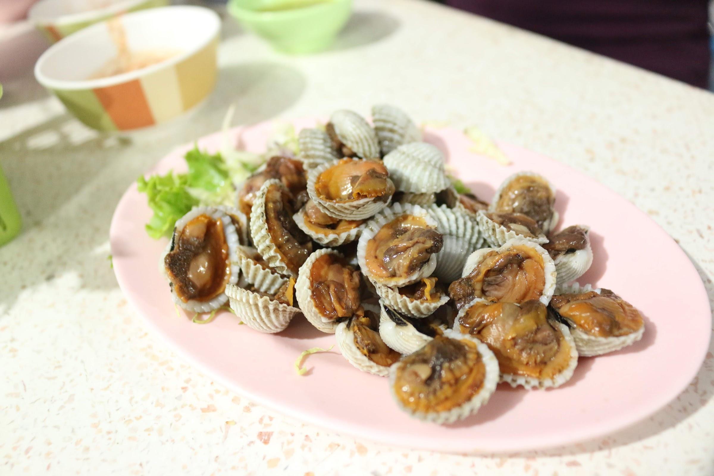 หอยแครงลวก - แจ่วฮ้อนอุบล ซ.หลังเบอร์ด๊อก