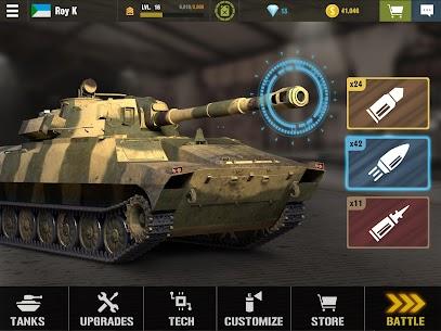 War Machines: Free Multiplayer Tank Shooting Games 8