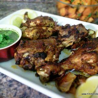 Spicy Roasted Chicken.