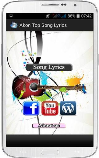 Akon Top Song Lyrics