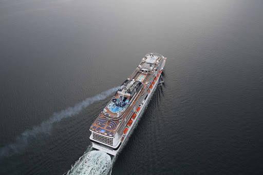 msc-meraviglia-ship-aerial.jpg -   The 4,500-passenger MSC Meraviglia sails itineraries throughout Europe.