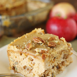 Old-Fashioned Apple Cake (Printable recipe).