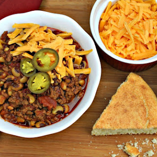 Beefy Black-Eyed Pea Chili.