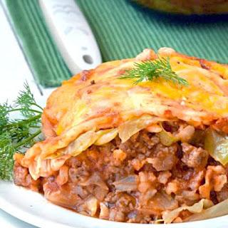 Cabbage Roll Casserole.