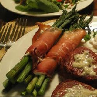 Prosciutto Wrapped Asparagus With Cheese Recipes