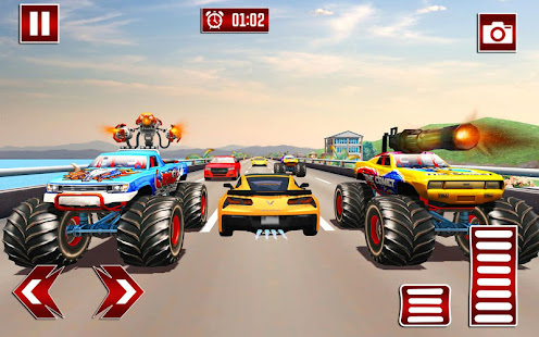 Monster Shooting Car:Highway Shooting Game for PC-Windows 7,8,10 and Mac apk screenshot 3