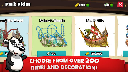 Rollercoaster Mania 1.5.7 screenshot 636964