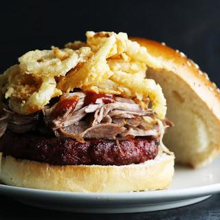 Sassy BBQ Pork Burger