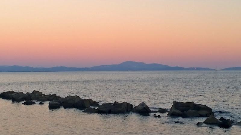 tramonto in costiera cilentana di enzomolino