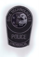 Photo: Babcock and Wilcox Technologies Police, Subdued