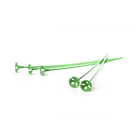 Ballongpinnar 10-pack - gröna