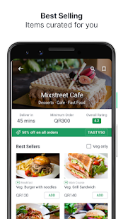 Fingertips - Food and Grocery Online Delivery