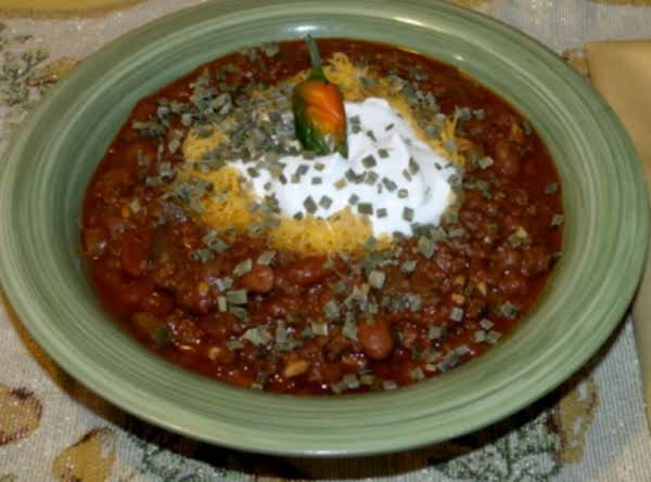 Cinfully Good Chili Recipe