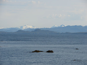 Photo: Clarence Strait looking southwest from Niblack Point.