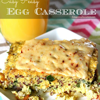 Easy Peasy Egg Casserole.
