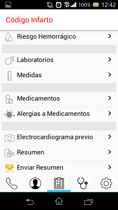 Código Infarto- screenshot