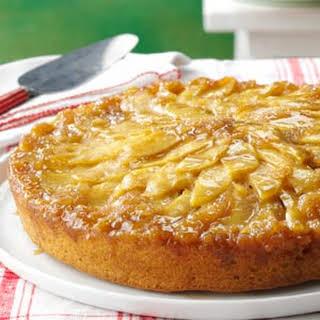 Gingered Apple Upside-Down Cake.