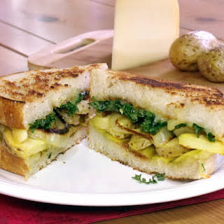 Grilled Raclette Cheese Sandwich.