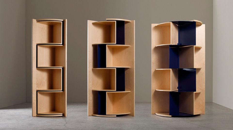 Esquineros minimalistas for Mueble esquinero de melamina