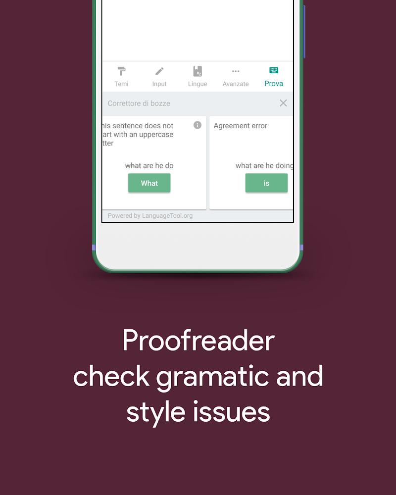 Hydrogen Keyboard Chrooma- Slim, Cyanogen, Lineage Screenshot 3