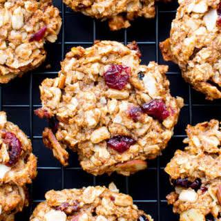 Gluten Free Trail Mix Cookies (Vegan, Gluten Free, Dairy Free).