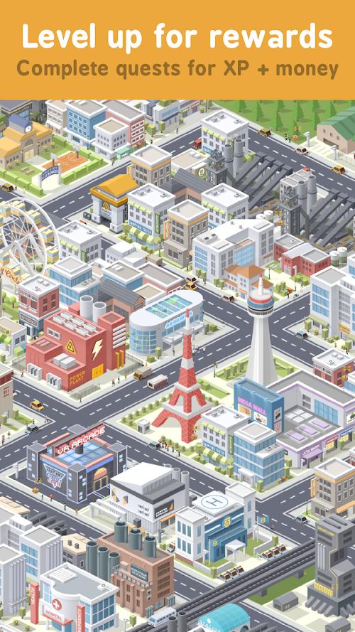 Screenshot 2 Pocket City 1.1.231 APK MOD PAID